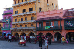 Buildings in Cartagena