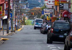 Streets near Spanish language school in Heredia
