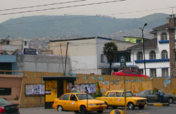 Travel in Quito by taxi