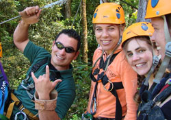 Canopy excursion and Study Spanish in Boquete