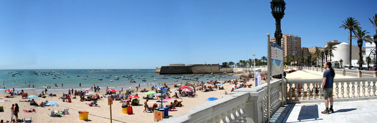 Arrival via plane, train or boat to the Language School in Cadiz - © el sisa